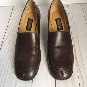 Vintage Coach leather Loafers Size 7 B